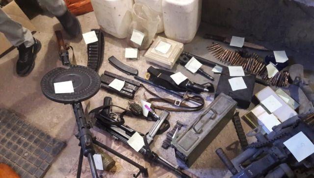Что нашли на складе оружия в Севастополе - оперативное видео