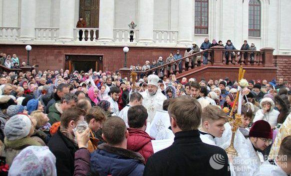 Праздничные мероприятия в день Крещения Господня в Крыму. Расписание