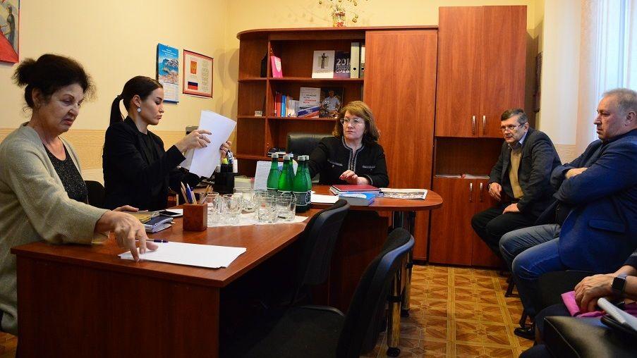 В Гаспре прошла встреча руководства города с общественниками