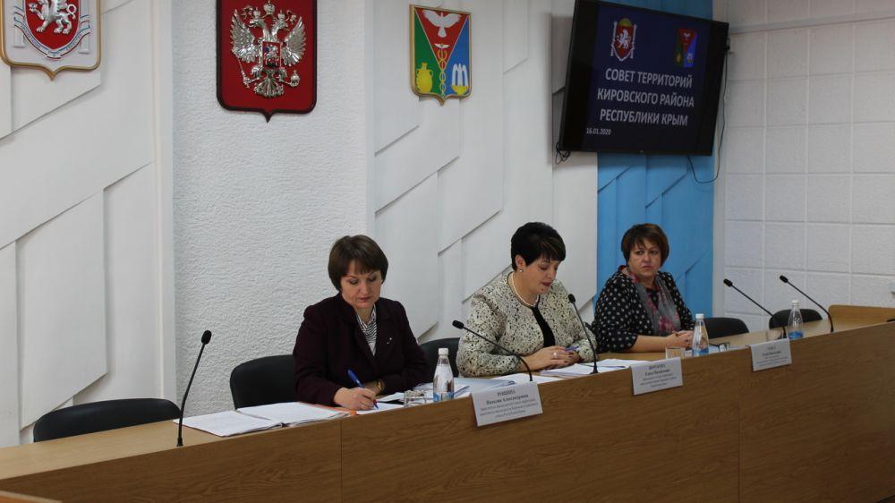 Состоялось первое заседание Совета территорий Кировского района Республики Крым