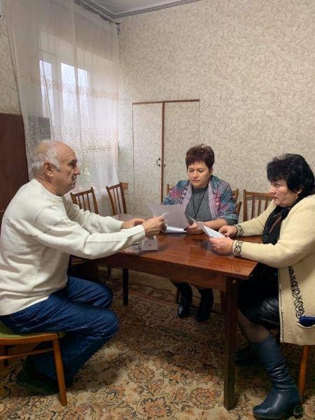 Алла Пономаренко с рабочей поездкой посетила Новопокровское сельское поселение