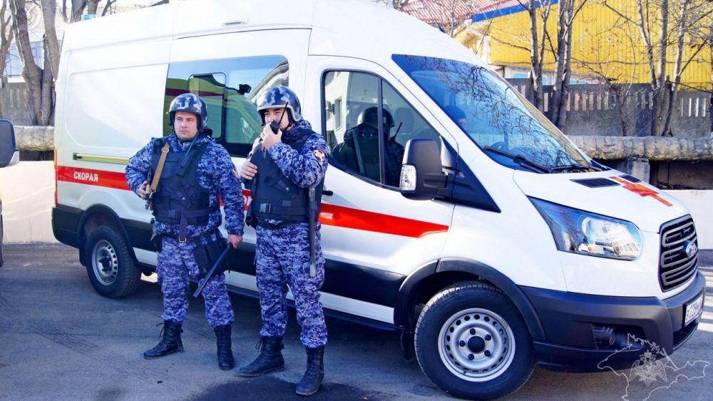 Бригадам скорой помощи Крыма обеспечат охрану