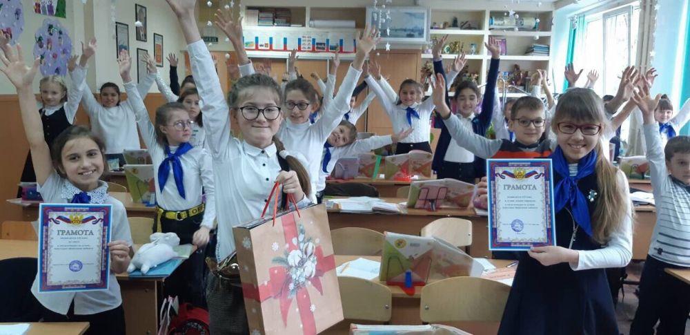 В Ялтинской школе № 1 подвели итоги конкурс за лучшее оформление кабинета