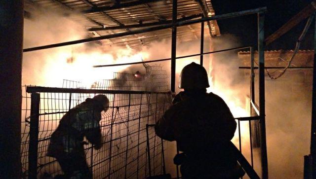 Житель Евпатории погиб на пожаре в жилом доме