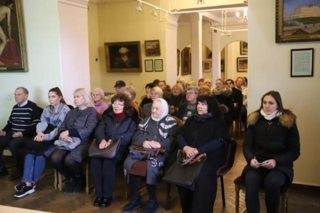 В Воронцовском дворце рассказали о творчестве Народного художника РФ Константина Прохорова