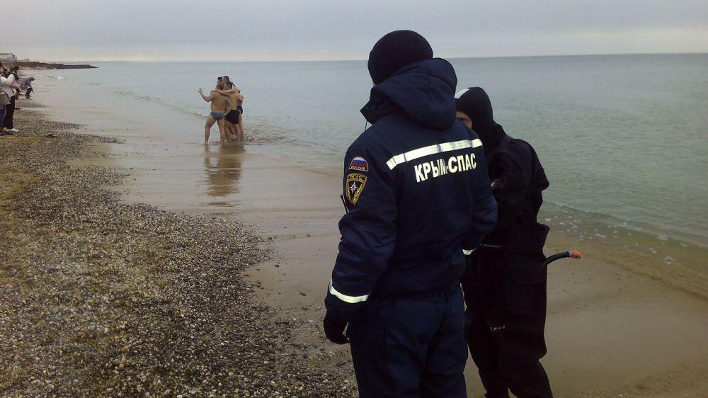 Чтобы крещенские купания прошли без происшествий, соблюдайте правила безопасного поведения!
