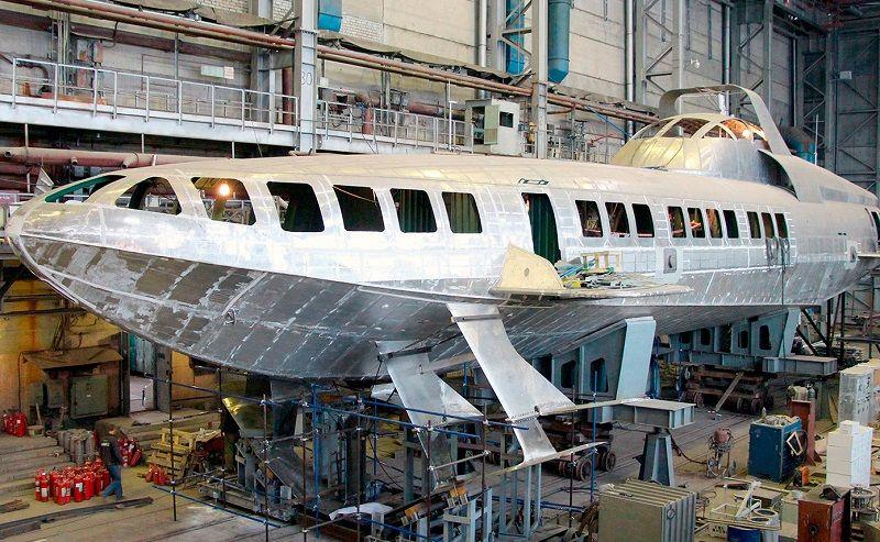 Феодосийский завод «Море» приступил к постройке двух скоростных «Комет»