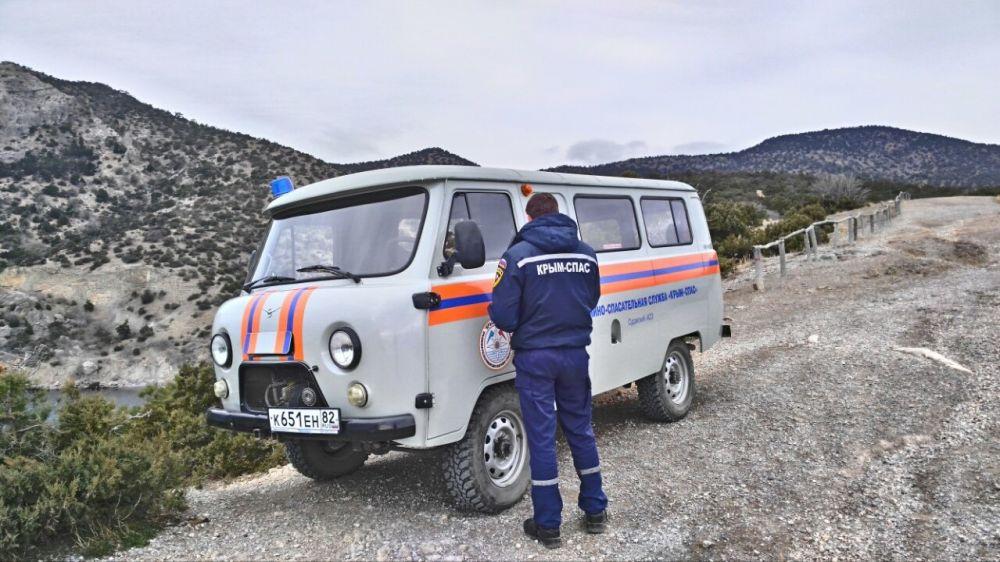 В период выходных дней сотрудники «КРЫМ-СПАС» осуществляют патрулирование горно-лесной зоны полуострова