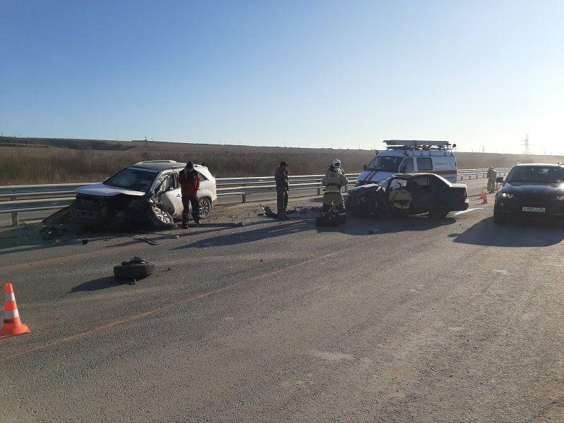 Два человека пострадали в ДТП на трассе Симферополь-Севастополь