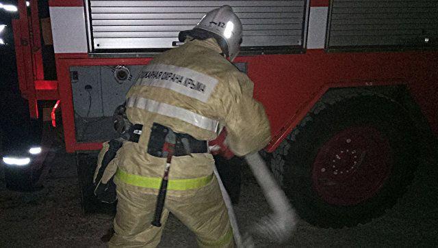 На пожаре в многоэтажке в Крыму эвакуировали 12 человек