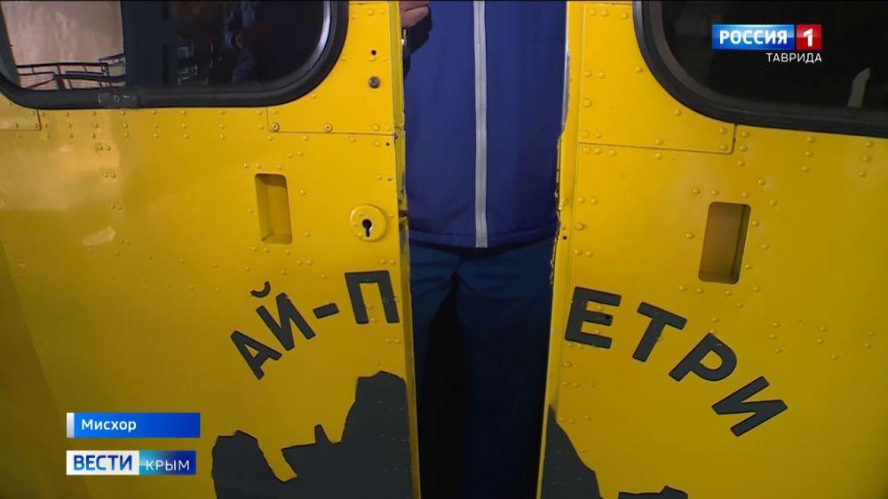 В Крыму закрылась канатная дорога «Мисхор – Ай-Петри»