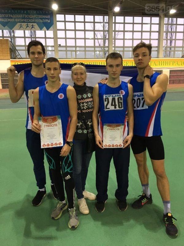Легкоатлеты Ялты завоевали 11 медалей на Чемпионате Южного Федерального округа