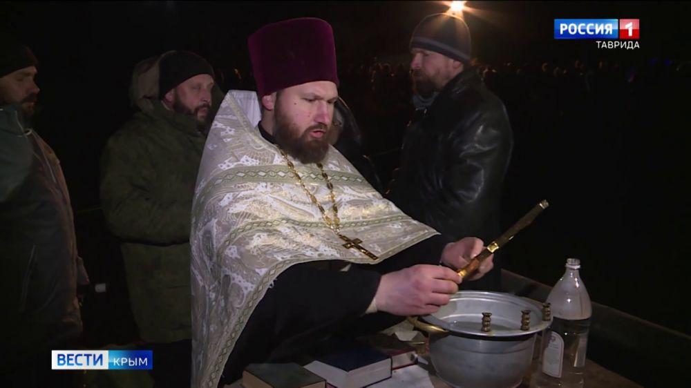 Всего +5 градусов: как в Крыму праздновали Крещение Господне