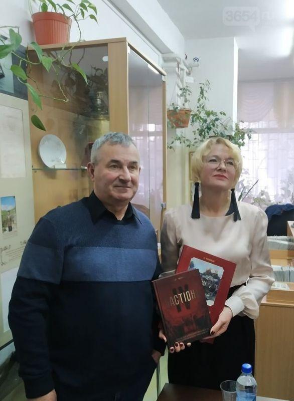 В Кореизе провели встречу с Сергеем Ченныко, редактором журнала «Military Крым»