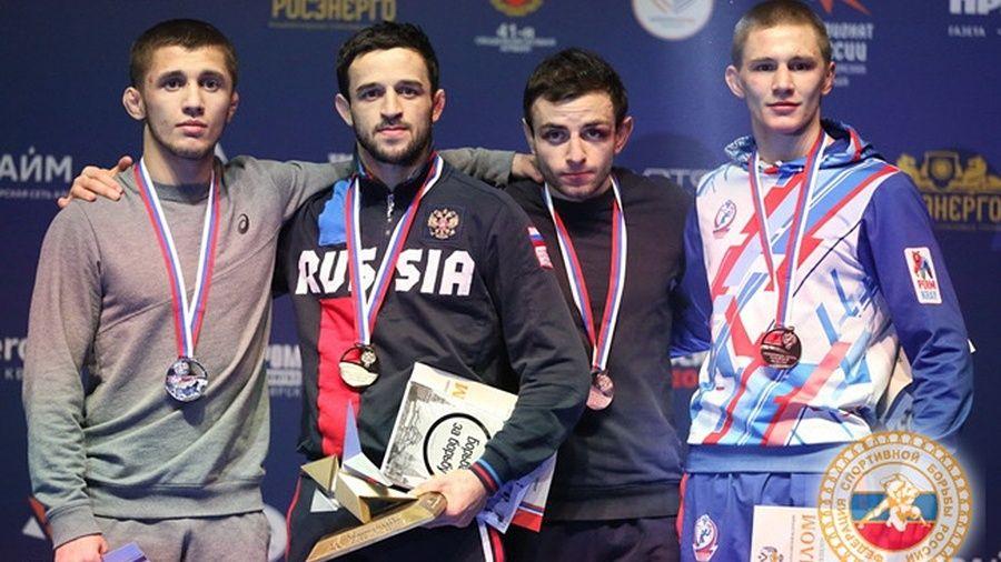 Все победители и призеры чемпионата России по греко-римской борьбе