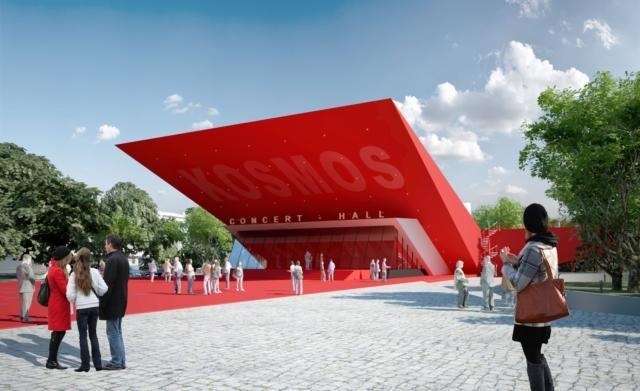 Каким может стать кинотеатр «Космос» в Симферополе