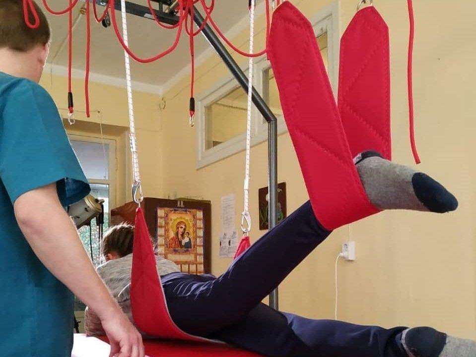 В Севастополе появились новые тренажёры для реабилитации детей