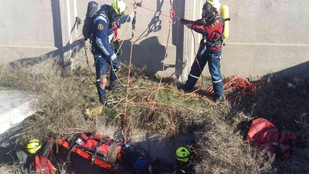 Специалисты Евпаторийского АСО «КРЫМ-СПАС» провели тренировку с использованием спецснаряжения