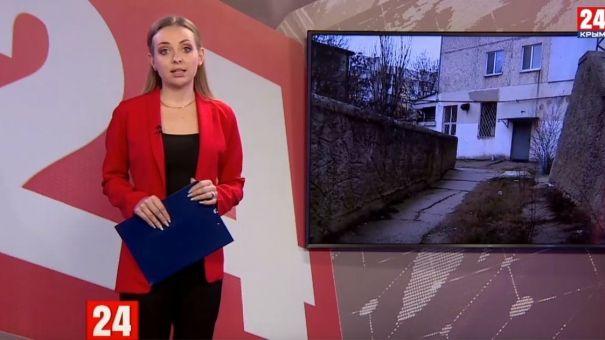 Около ста семей в Керчи живут в треснувшем доме