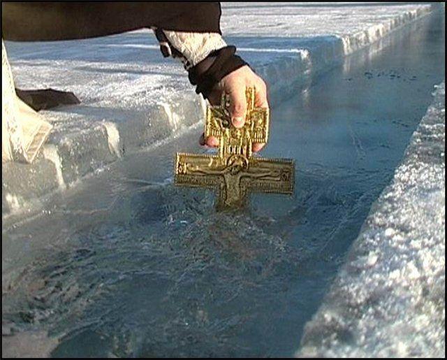 В Крыму отпраздновали Крещение