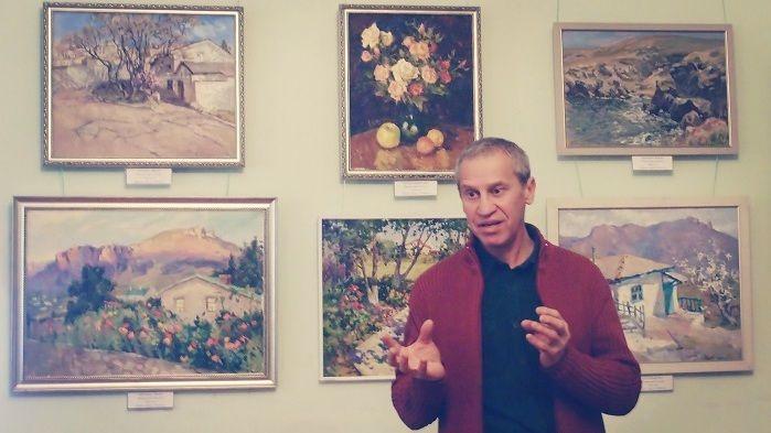 Состоялось открытие персональной выставки Владиславы Турской «Остров Крым»