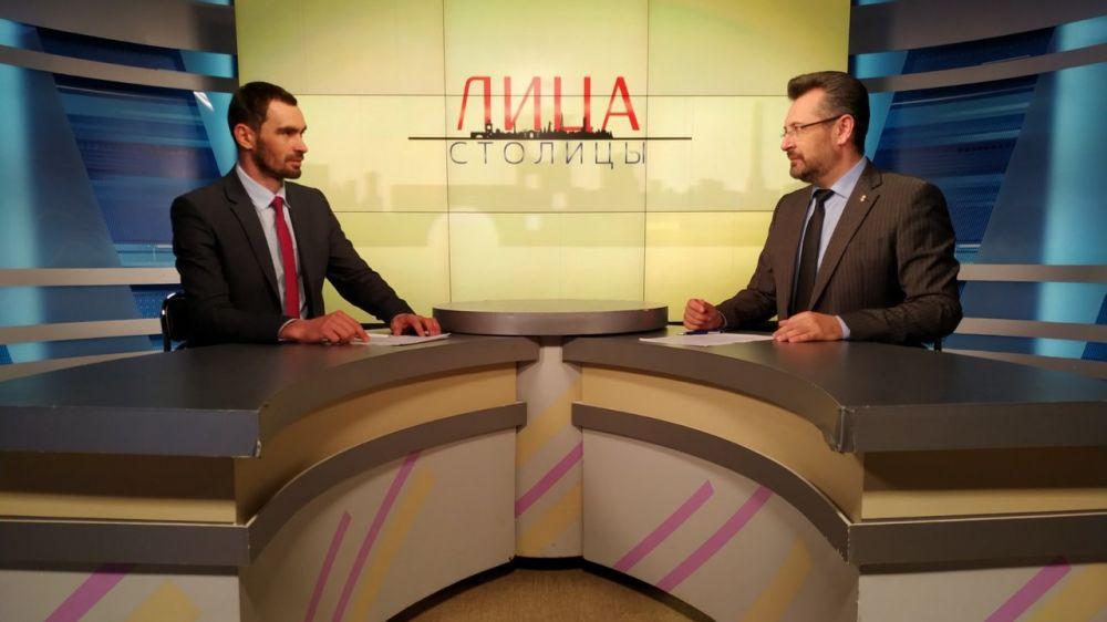 Александр Макарь - гость телепроекта «Лица столицы»