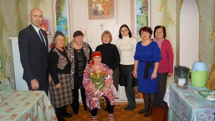 Труженику тыла Макощенко Валентине Ильиничне исполнилось 90 лет