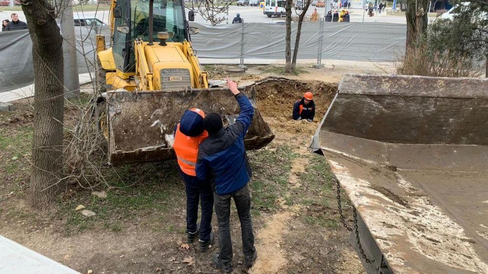 В Севастополе началась реконструкция водовода длиной в 4 км