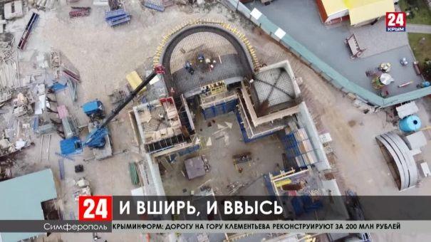 В Симферополе строят церковь святой Великомученицы Екатерины