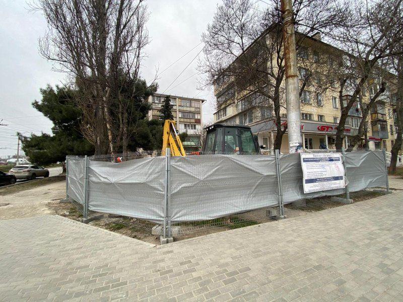 В Севастополе на пр. Ген. Острякова стартовала реконструкция водовода