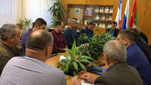 Cовещание с руководством коммунальных и ресурсоснабжающих организаций города