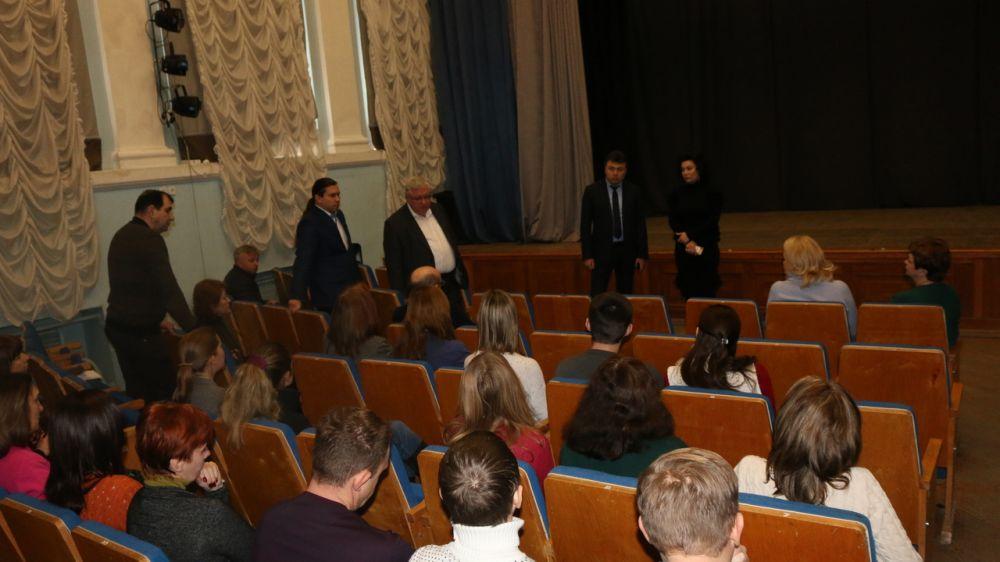 Состоялась встреча с коллективом Государственного комитета по охране культурного наследия Республики Крым