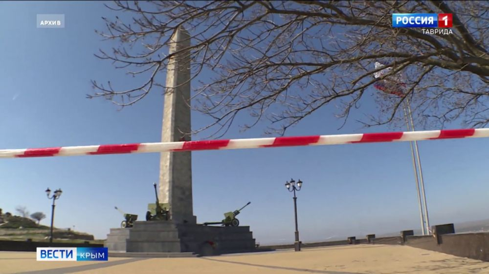В Керчи начали реконструкцию обелиска Славы