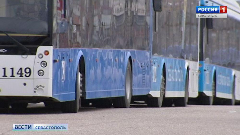 В Севастополе временно прекращено движение троллейбусов №4, №5, №14, №19