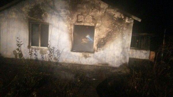 Крымские огнеборцы ликвидировали пожар в Советском районе