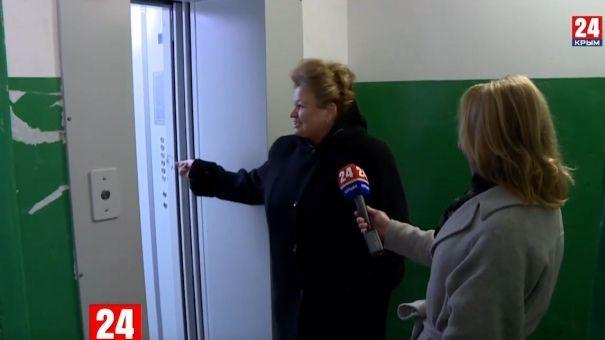 В Ялте впервые за 25 лет начали менять лифты