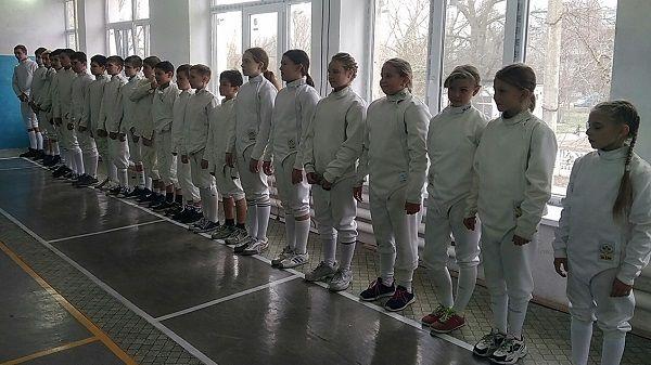 Спортсмены нашего района поучаствовали в первенстве Республики Крым по фехтованию на саблях среди юниоров до 21 года