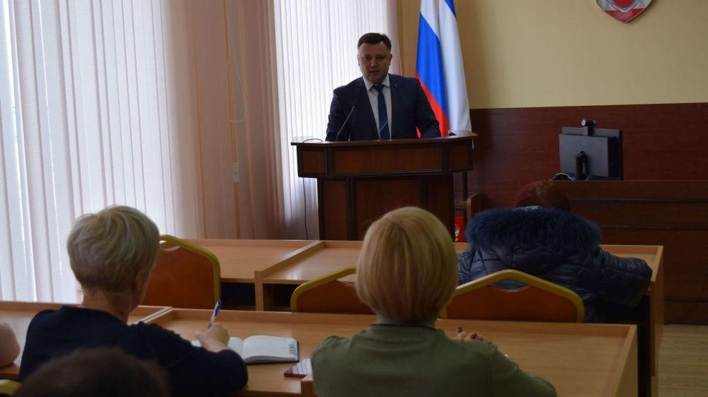 Состоялось первое заседание Совета территорий города Джанкоя
