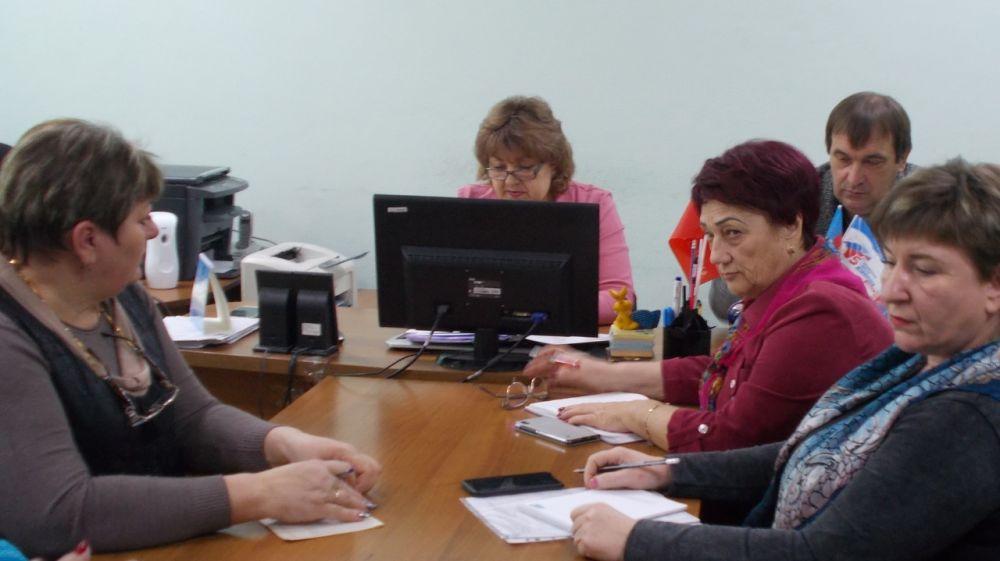 В Красноперекопском районе состоялось внеочередное заседание районного совета