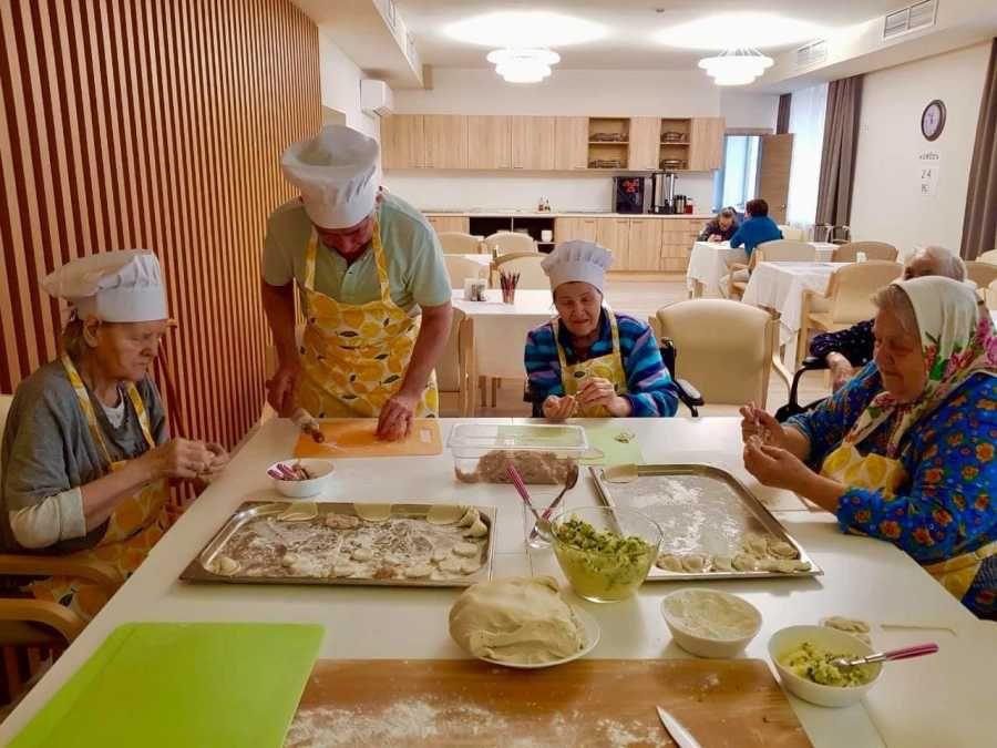 В Москве заработала элитная резиденция для пенсионеров