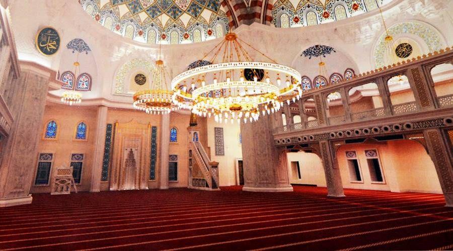 Мастера из Турции весной приступят к отделке и росписи Соборной мечети