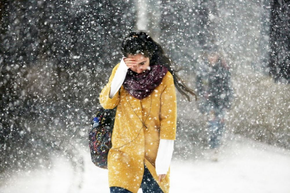 В четверг в Крыму прогнозируют мокрый снег и ветер