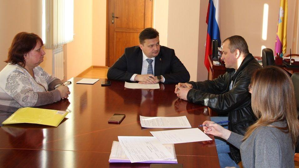 Константин Шимановский провёл первый в этом году приём граждан