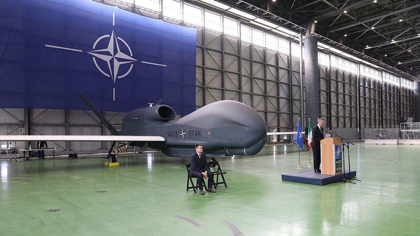 «Ястребиный» пролёт: как НАТО намеревается следить за Россией с помощью новейших американских беспилотников