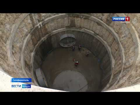 Старый коллектор под замену: в Симферополе началась масштабная стройка