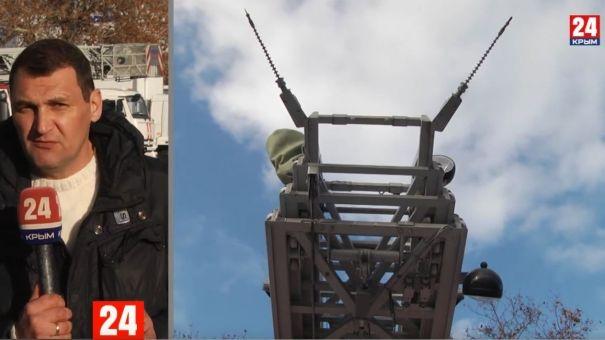 МЧС-ники Севастополя получили современной оборудование