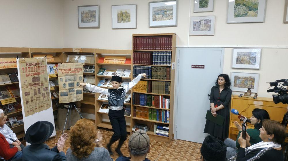 Республиканская крымскотатарская библиотека провела вечер народного танца
