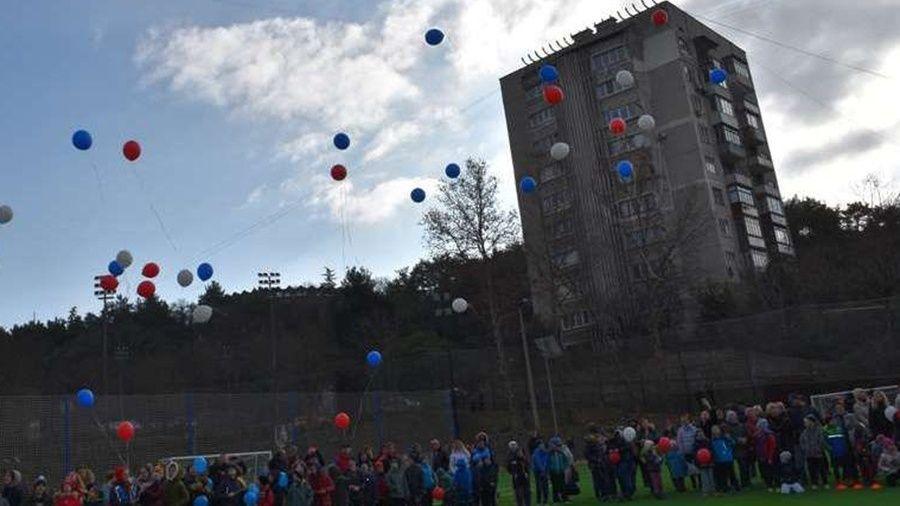 В Ялте отремонтировали стадион Детско-юношеского центра по физкультуре и спорту