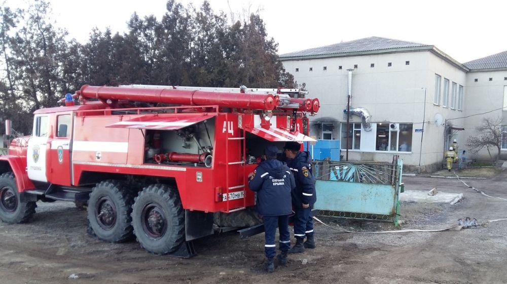 Сотрудники ГКУ РК «Пожарная охрана Республики Крым» провели ПТЗ в детском саду с. Грушевка