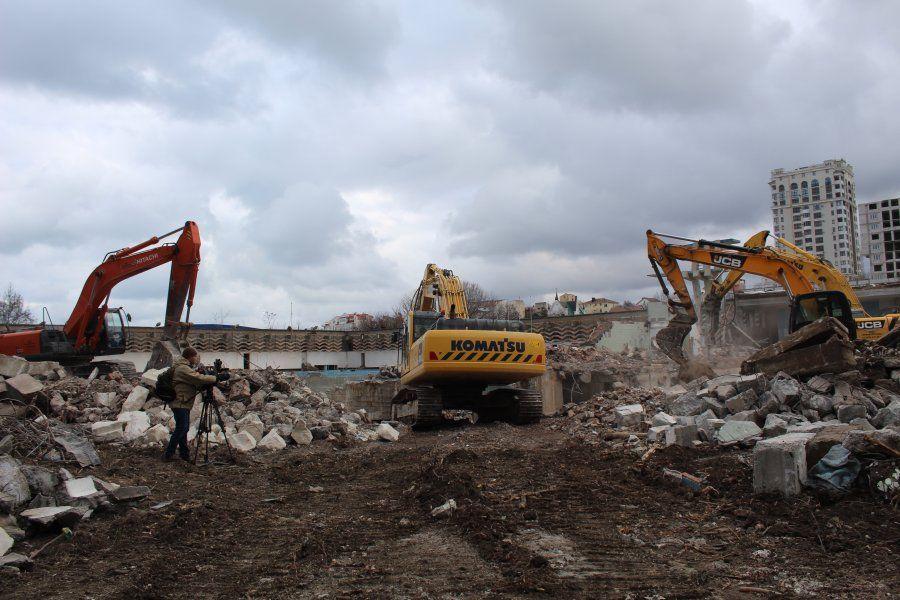 Стартовала реконструкция спортивно-оздоровительного комплекса им. 200-летия Севастополя
